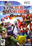 Caja de Super Smash Bros. Brawl (Europa)