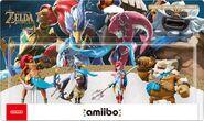 Embalaje europeo del pack de los Cuatro Elegidos - Serie The Legend of Zelda