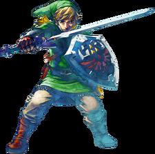 Link en The Legend of Zelda - Skyward Sword