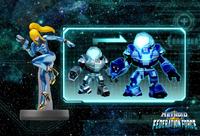 Meka con los colores de Samus Zero - Metroid Prime - Federation Force
