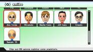 Selección de propietario (Mii) para amiibo - Super Smash Bros. for Wii U