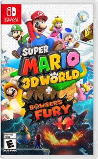 Caja de Super Mario 3D World + Bowser's Fury (América)