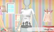 Pueblo con nubes - Nintendo presenta New Stlye Boutique 3 Estilismo para celebrities