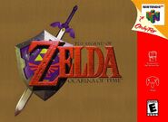 Caja de The Legend of Zelda - Ocarina of Time