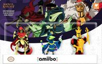 Embalaje americano del pack de Specter Knight, Plague Knight y King Knight - Serie Shovel Knight