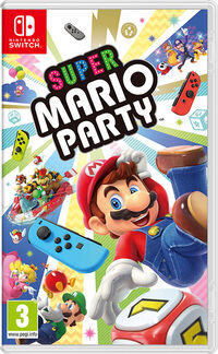 Caja de Super Mario Party (Europa)