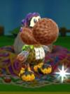 Patrón Inkling chico (morado) - Poochy & Yoshi's Woolly World