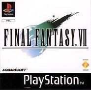 Caja de Final Fantasy VII (Europa)