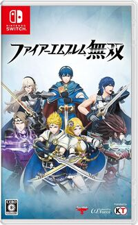 Caja de Fire Emblem Warriors (Switch) (Japón)