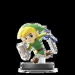 Amiibo Toon Link - Serie Super Smash Bros.
