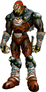 Ganondorf en The Legend of Zelda - Ocarina of Time