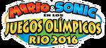 Logo de Mario & Sonic en los Juegos Olímpicos Rio 2016
