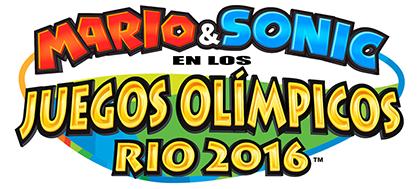 Imagen Logo De Mario Sonic En Los Juegos Olimpicos Rio 2016 Png
