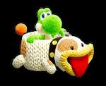 Atuendo de manualidad de Poochy - Yoshi's Crafted World