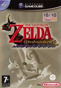 Caja de The Legend of Zelda - The Wind Waker (Europa)