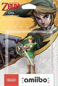 Embalaje americano del amiibo de Link (Twilight Princess) - Serie 30 aniversario TLoZ