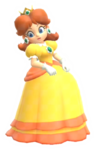 Calcomanía brillante de Daisy - Super Mario Party