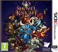 Caja de Shovel Knight (3DS) (Europa)