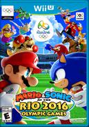 Caja de Mario & Sonic at the Rio 2016 Olympic Games (Wii U)