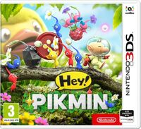 Caja de Hey! Pikmin (Europa)
