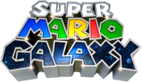Logo Super Mario Galaxy