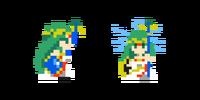 Traje de Palutena - Super Mario Maker