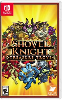 Caja de Shovel Knight Treasure Trove (América)