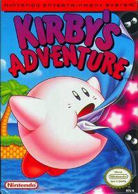 Caja de Kirby's Adventure (Occidente)
