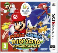 Caja de Mario & Sonic at the Rio 2016 Olympic Games (3DS) (Europa)