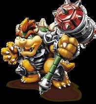 Hammer Slam Bowser en Skylanders SuperChargers
