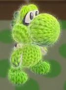 Patrón Calamar Inkling - Yoshi's Woolly World