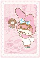 Sello My Melody y Nuria - Serie Animal Crossing X Sanrio