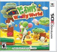 Caja de Poochy & Yoshi's Woolly World (América)