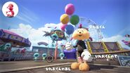 Imagen oficial japonesa del conjunto del chico Aleta Splatoon 2
