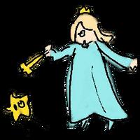 Retrato amiibo de Estela y Destello - WarioWare Gold