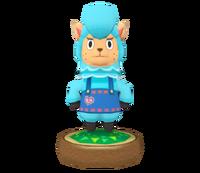 Estatua Cumulonimbo azul - Hey! Pikmin