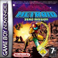 Caja de Metroid Zero Mission (Europa)