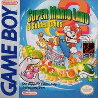 Caja de Super Mario Land 2 (Europa)