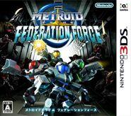 Caja de Metroid Prime - Federation Force (Japón)