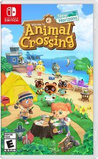Caja de Animal Crossing New Horizons (América)