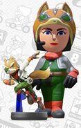 Mii usando el atuendo de Fox - Mario Kart 8