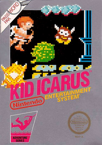 Caja de Kid Icarus (América)