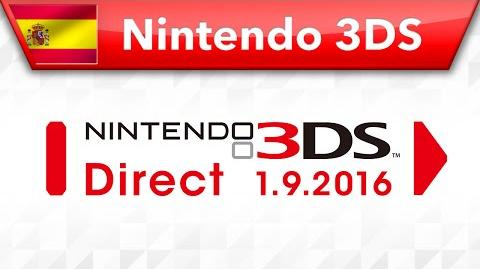 Nintendo 3DS Direct - 01.09