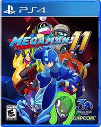 Caja de Mega Man 11 (PlayStation 4) (América)