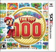 Caja de Mario Party The Top 100 (América)