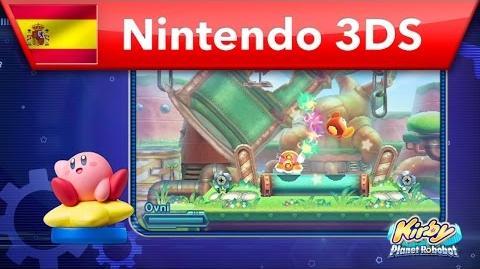 Kirby Planet Robobot - ¡Desbloquea más de 20 poderes con amiibo! (Nintendo 3DS)