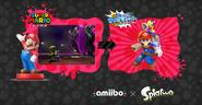 Rumor desmentido de la funcionalidad en Splatoon del amiibo de Mario