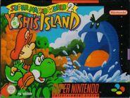 Caja de Super Mario World 2 - Yoshi's Island (Europa)