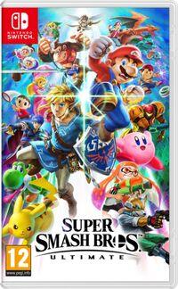 Caja de Super Smash Bros. Ultimate (Europa)