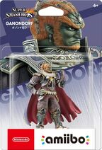 Embalaje NTSC del amiibo de Ganondorf - Serie Super Smash Bros.